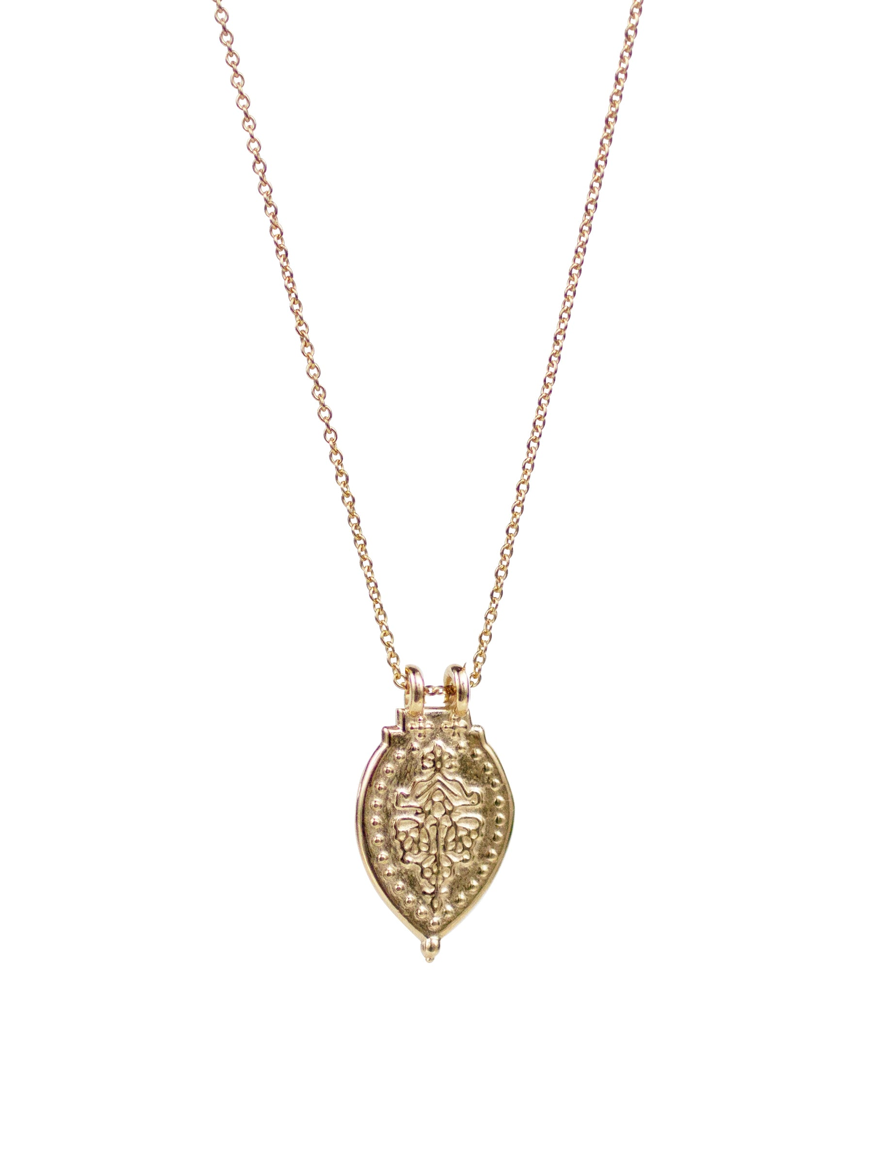 14k Gold PRAYER NECKLACE