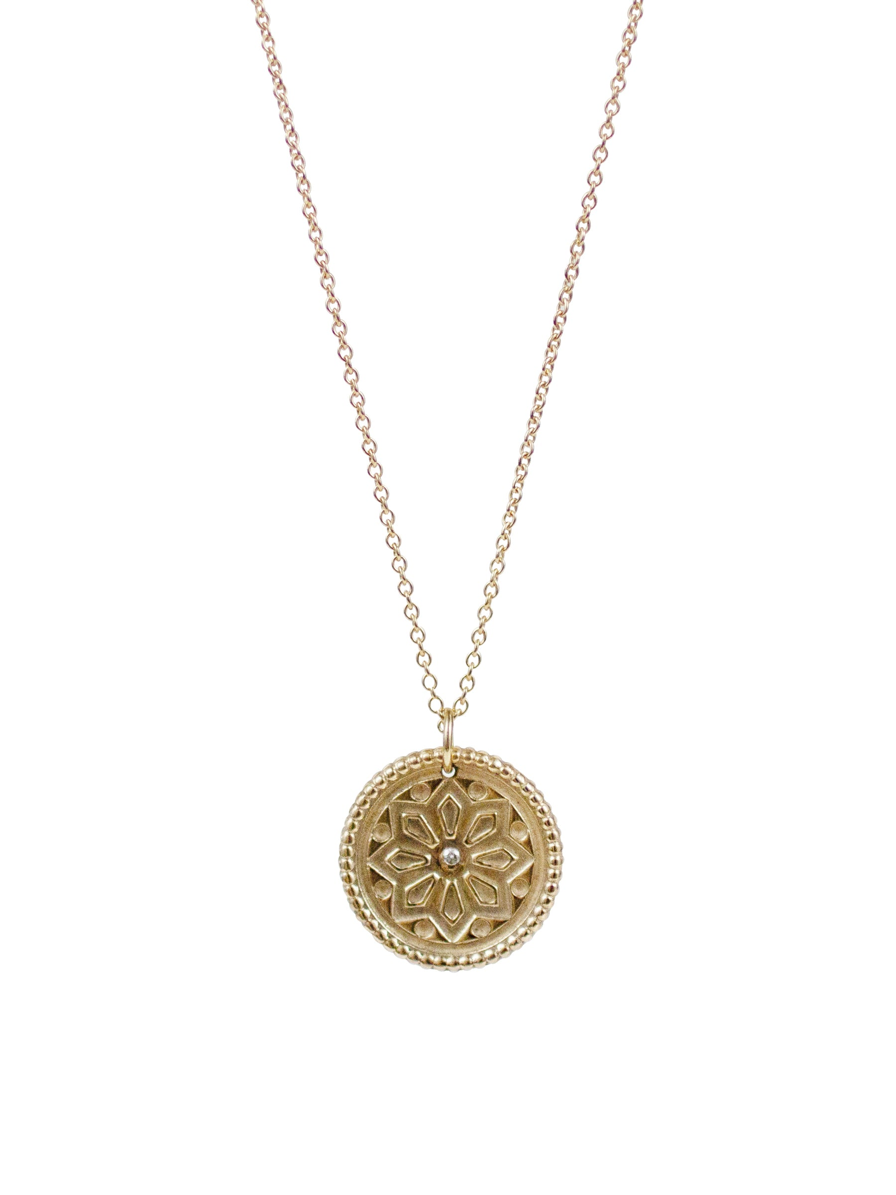 SUN LOTUS NECKLACE