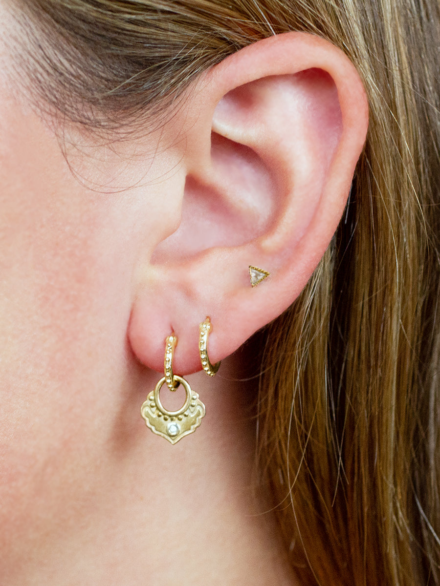 "Karma Earrings ""thoughtful action"""