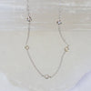 14K Diamond Charm Necklace
