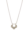 "Asana Necklace - Small ""ground your power"""