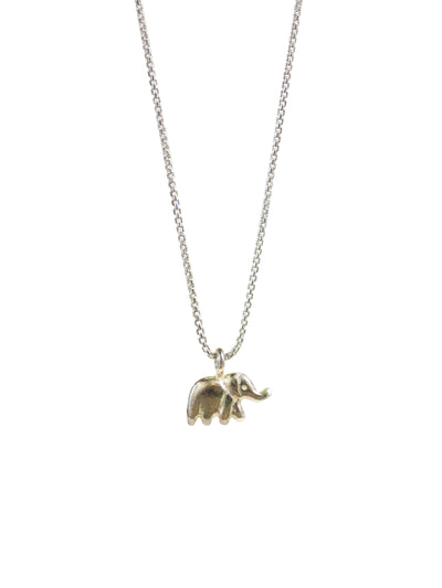 "Ellie Necklace ""big presence, soft step"""