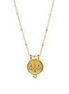 "Libra Necklace ""balanced & poised"""