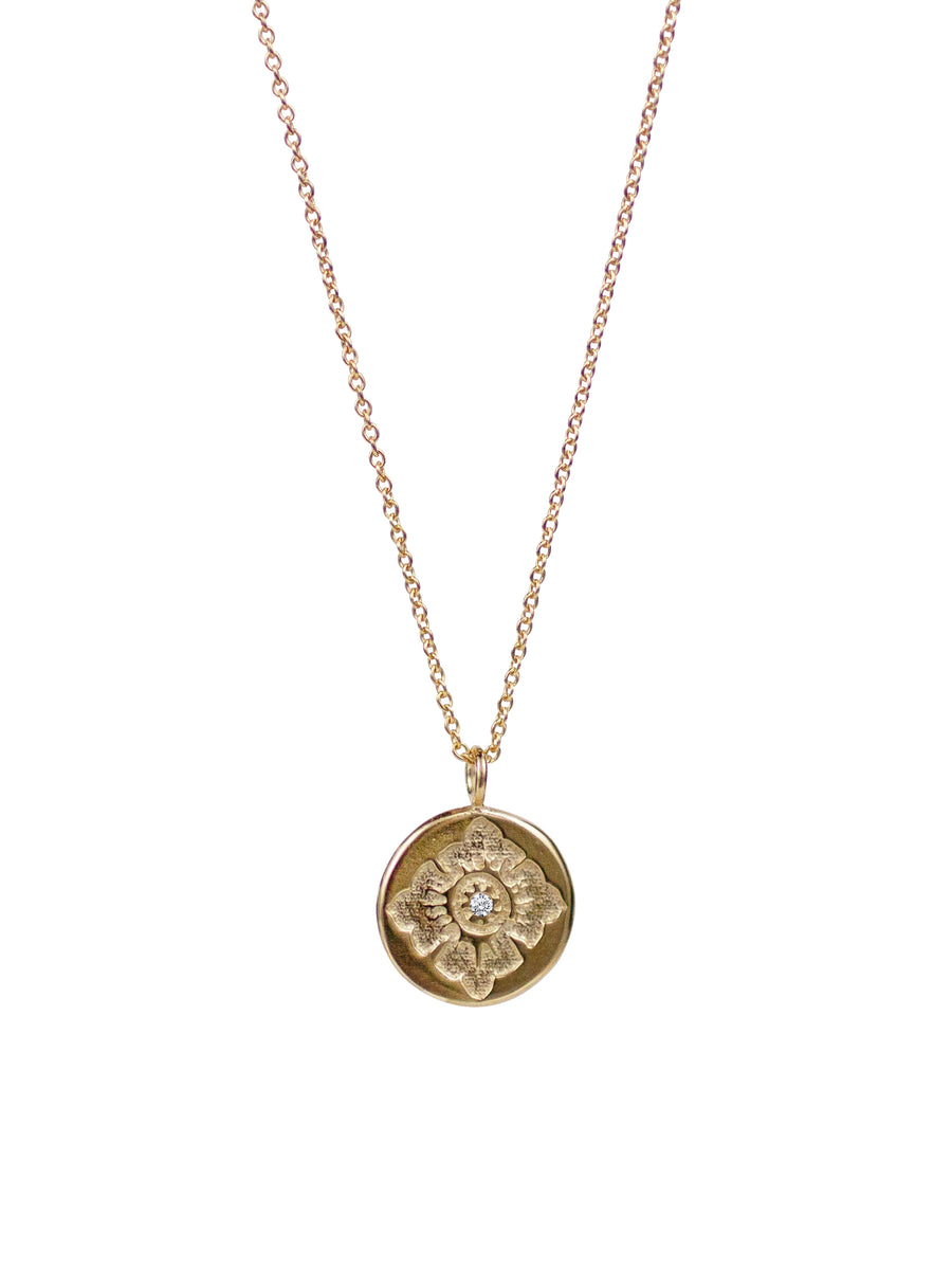LULU FLOWER NECKLACE - SMALL