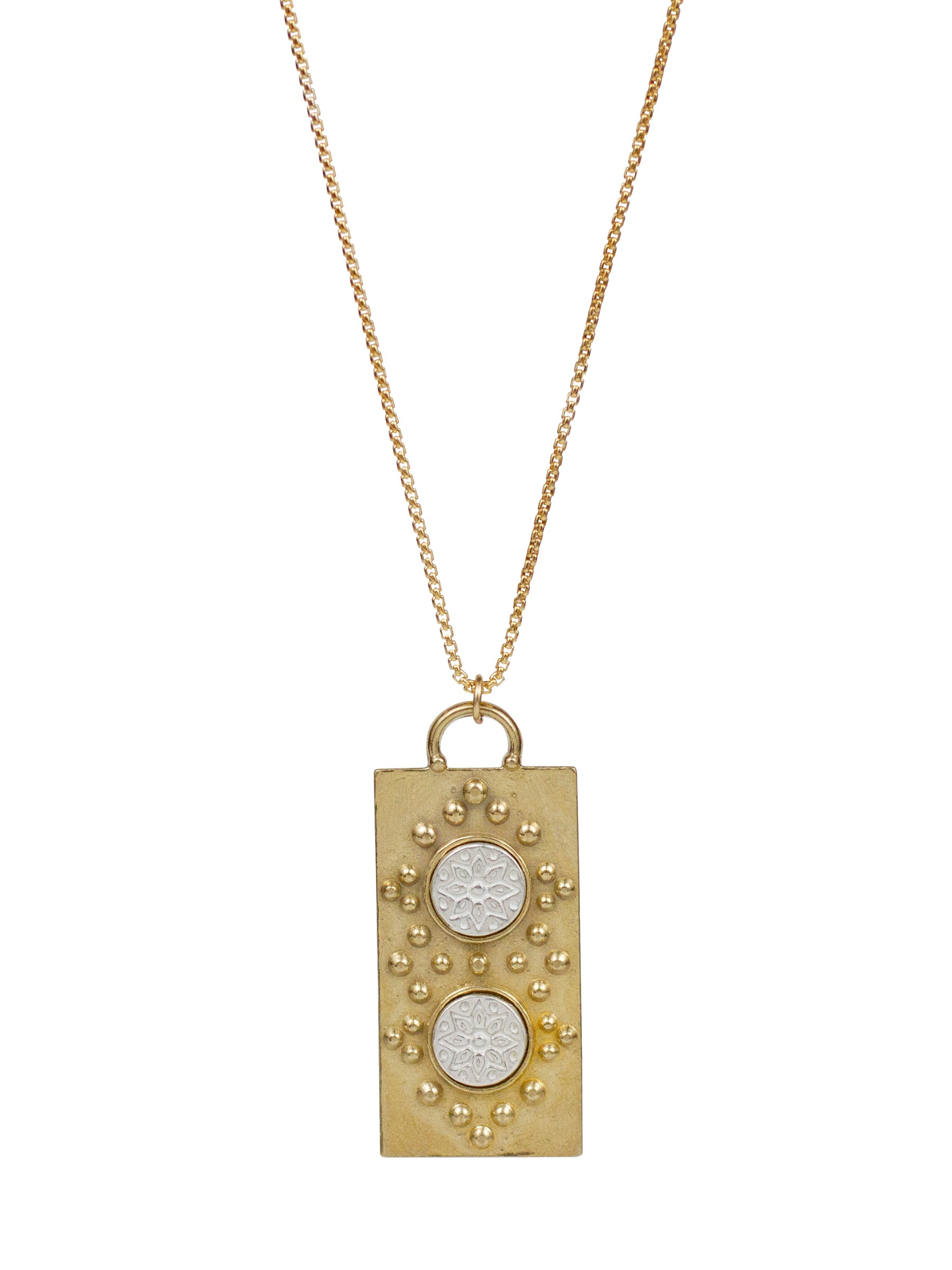 "Mantra Necklace ""manifest your destiny"""