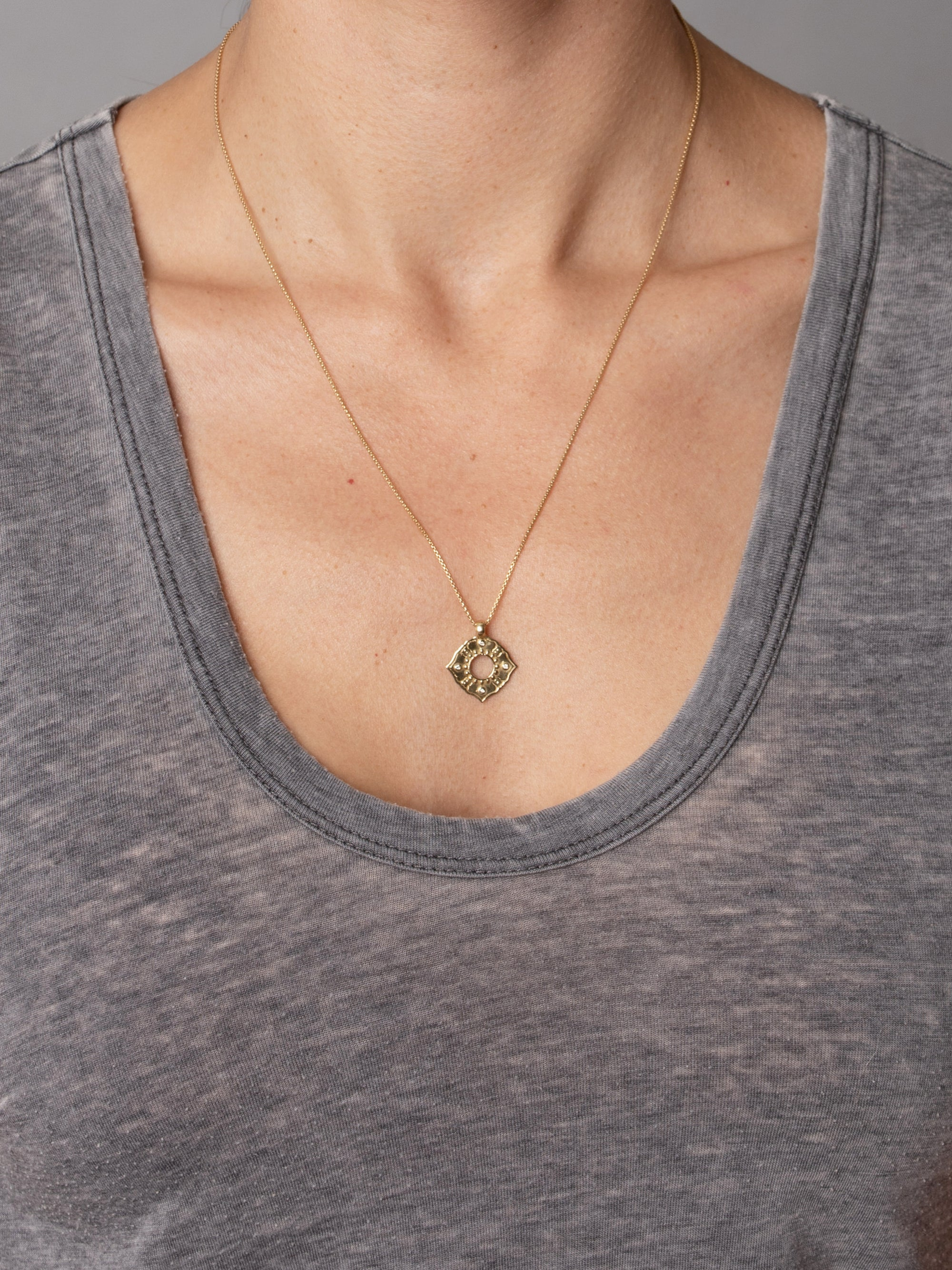 "Anahata Necklace ""boundless heart"""
