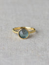 Chelsea Ring London Blue Topaz