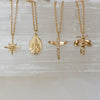14K Christ Necklace