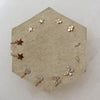 14K Diamond Mini Star Posts