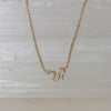 14K Diamond Petite Snake Necklace