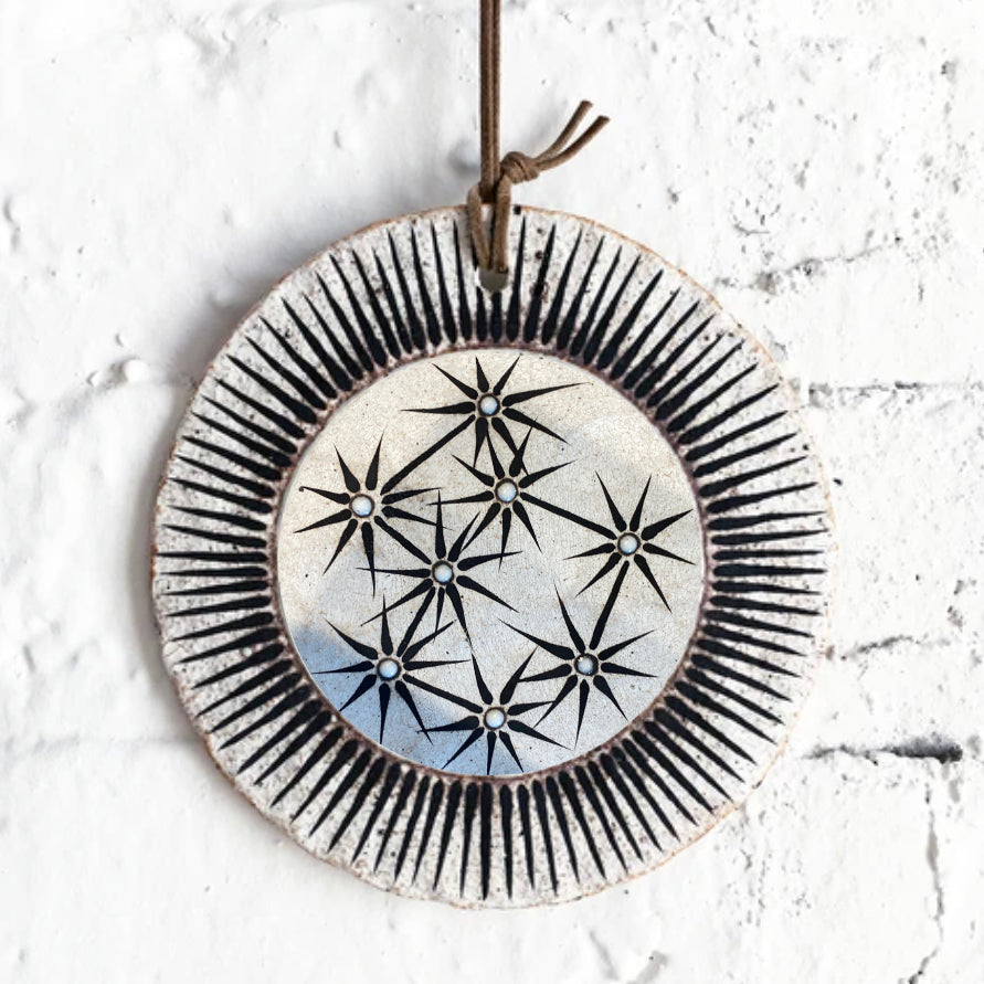 Pinched Disc Ornament - Large