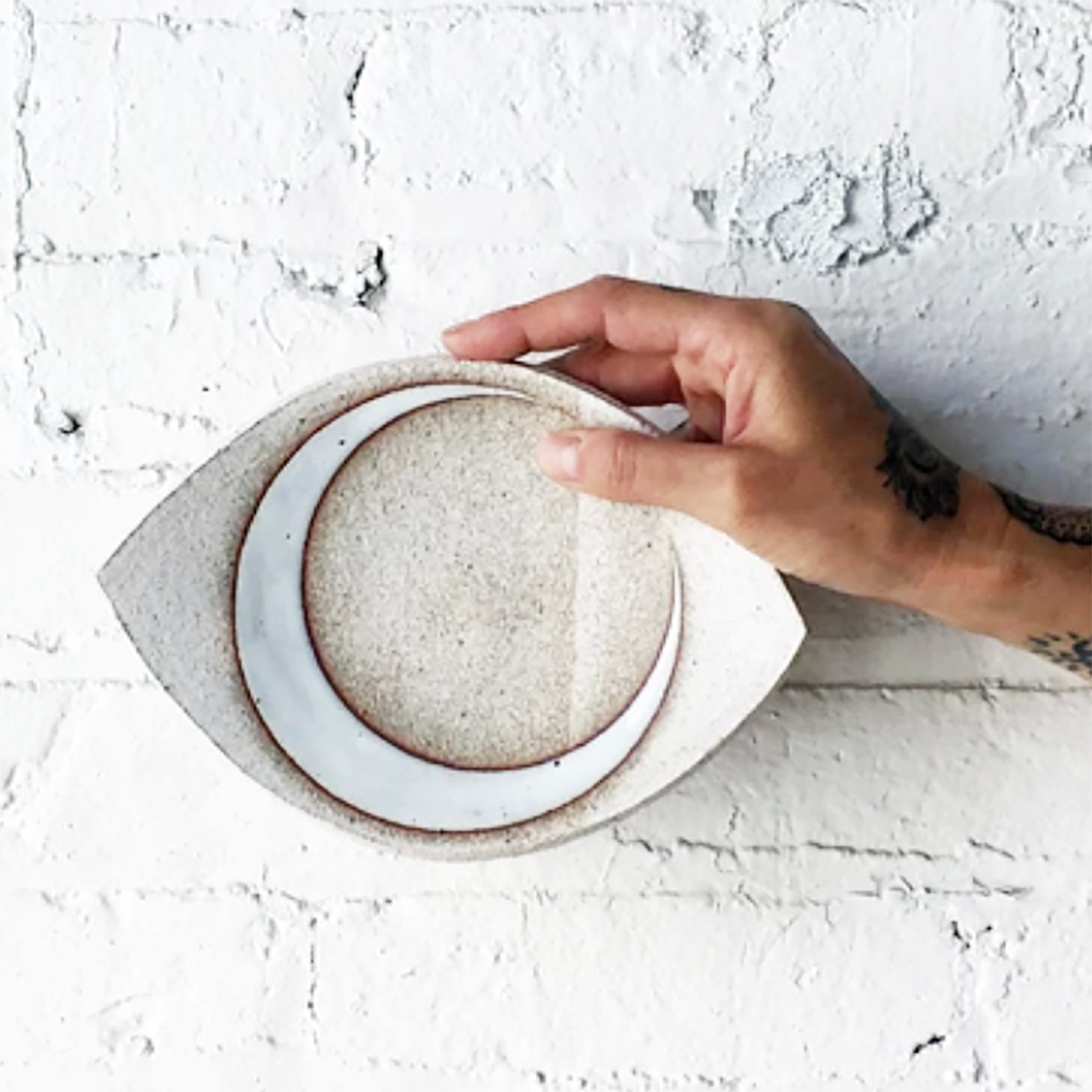 Eye Slab Dish - Medium