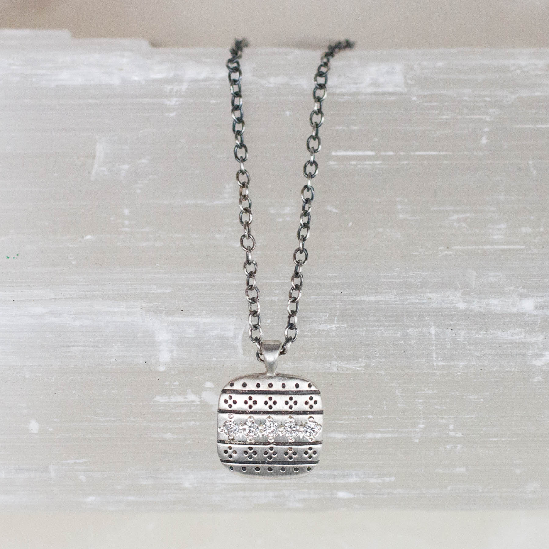 Square Nomad Necklace