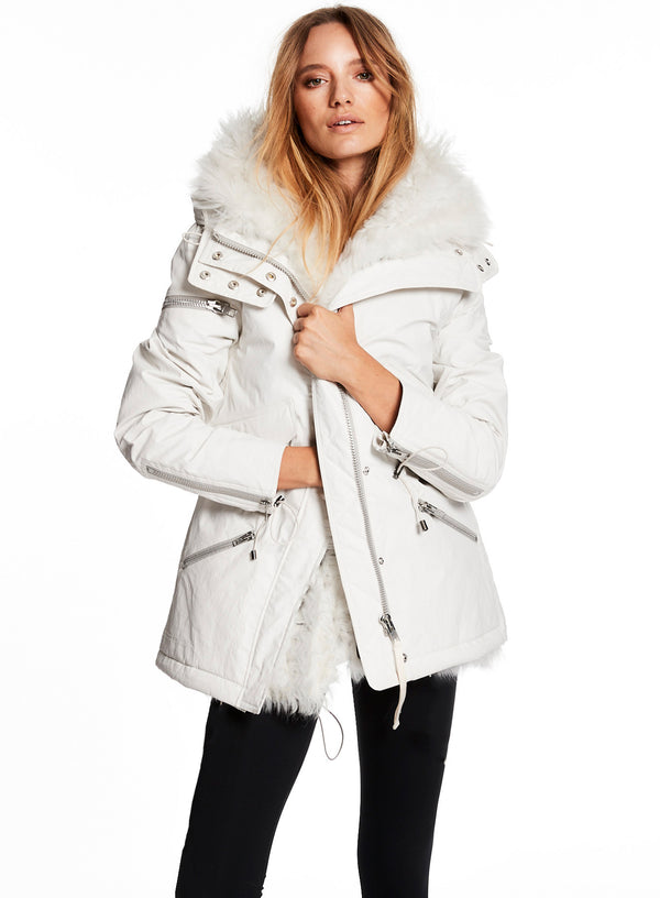 SHEARLING MINI LIMELIGHT SHEARLING MINI LIMELIGHT - SAM. New York Sam nyc jacket