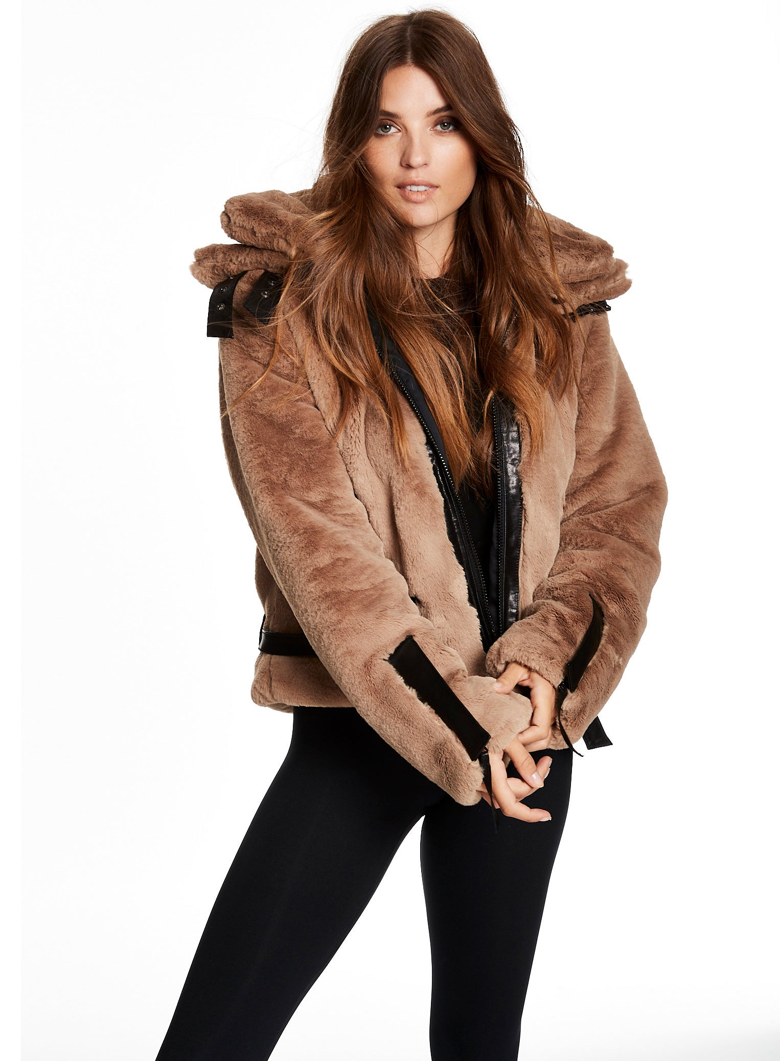 FAUX FUR PENELOPE FAUX FUR PENELOPE - SAM. New York Sam nyc jacket