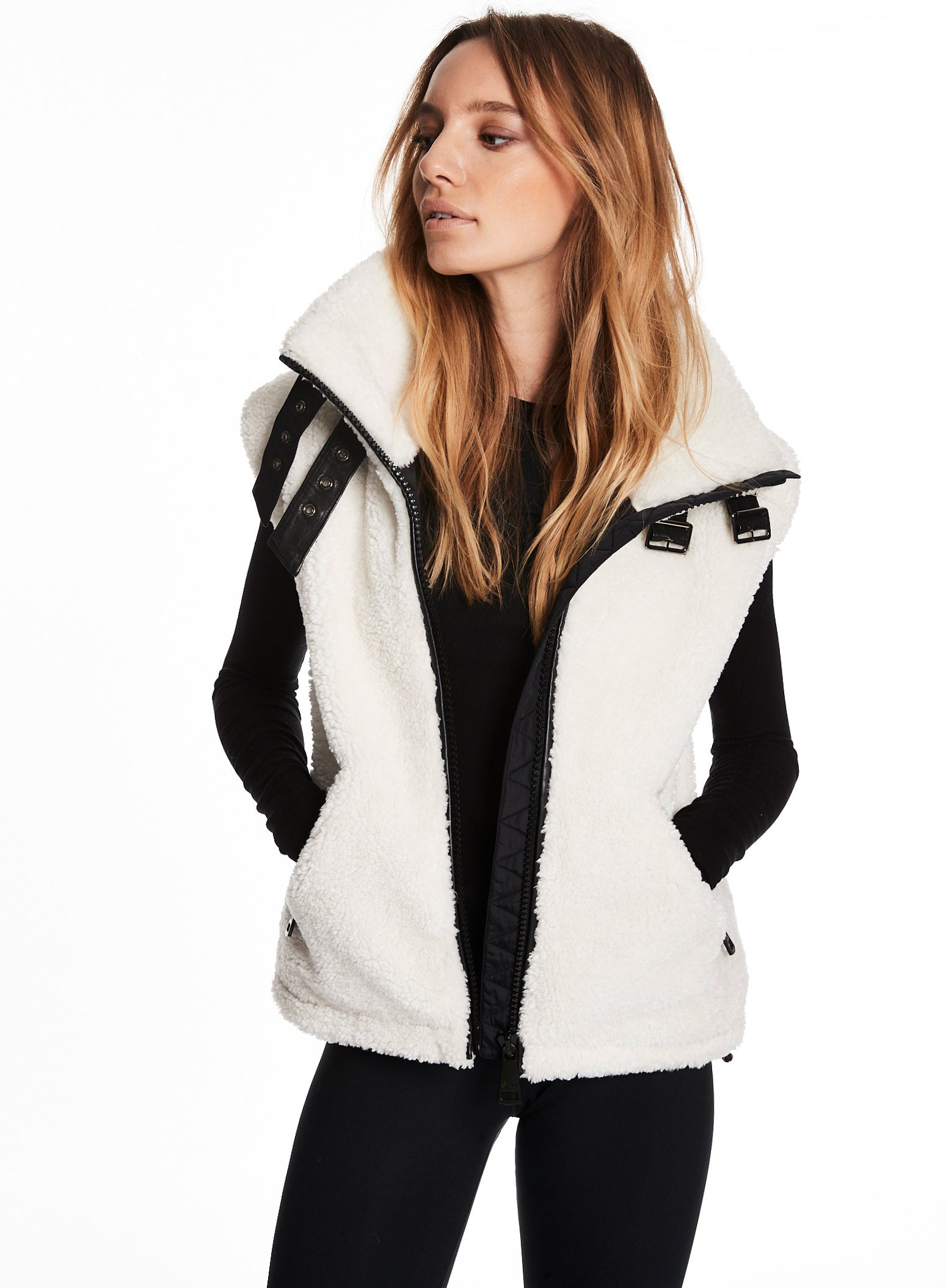 SHERPA VEST SHERPA VEST - SAM. New York Sam nyc jacket