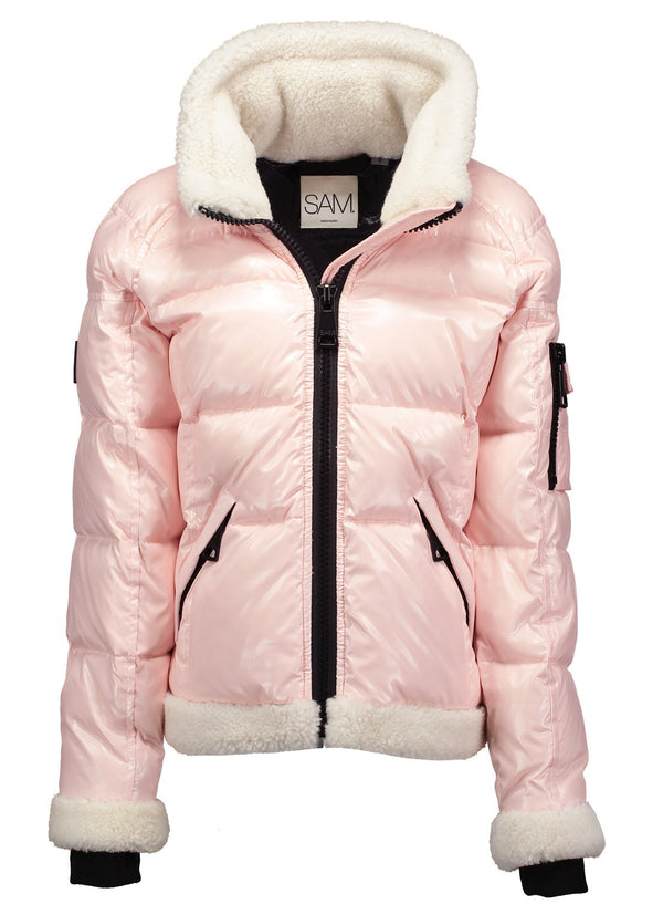 GIRLS SHEARLING FREESTYLE GIRLS SHEARLING FREESTYLE - SAM. New York Sam nyc jacket