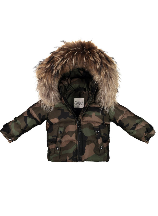 CAMO SNOWBUNNY CAMO SNOWBUNNY - SAM. New York Sam nyc jacket