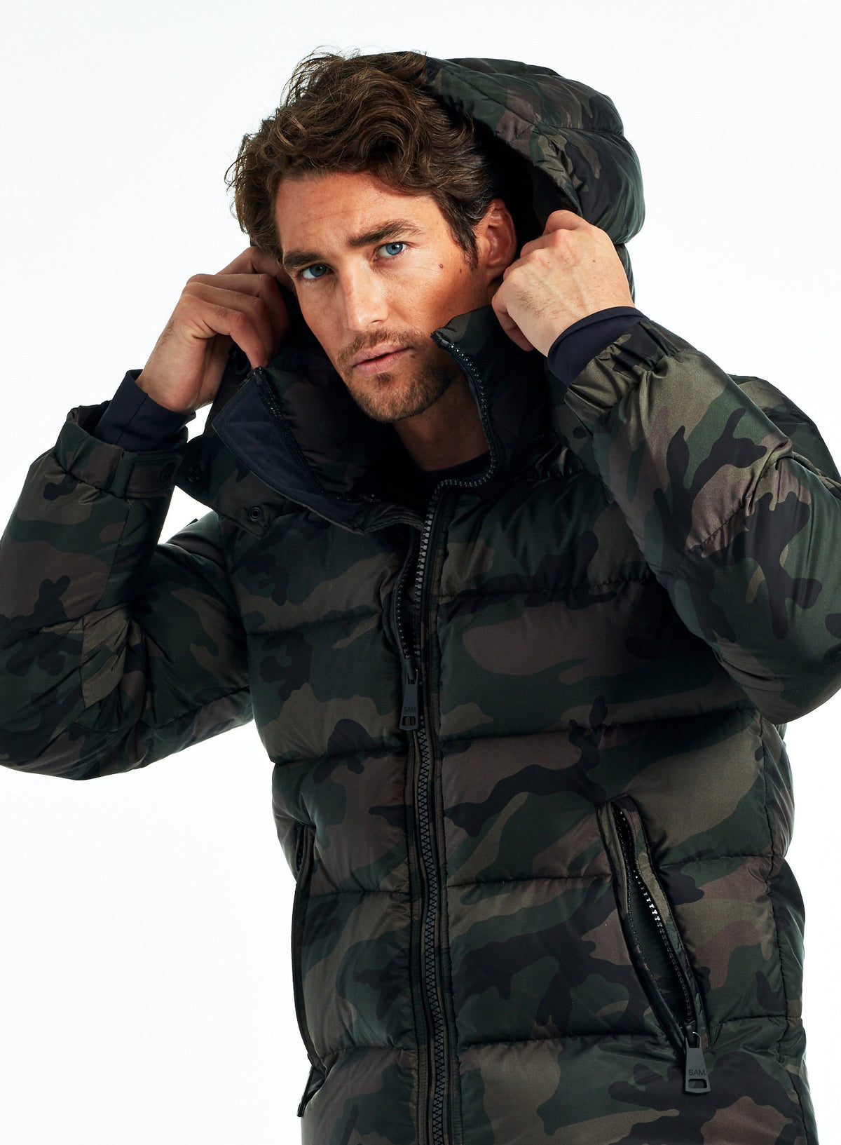 CAMO GLACIER CAMO GLACIER - SAM. New York Sam nyc jacket