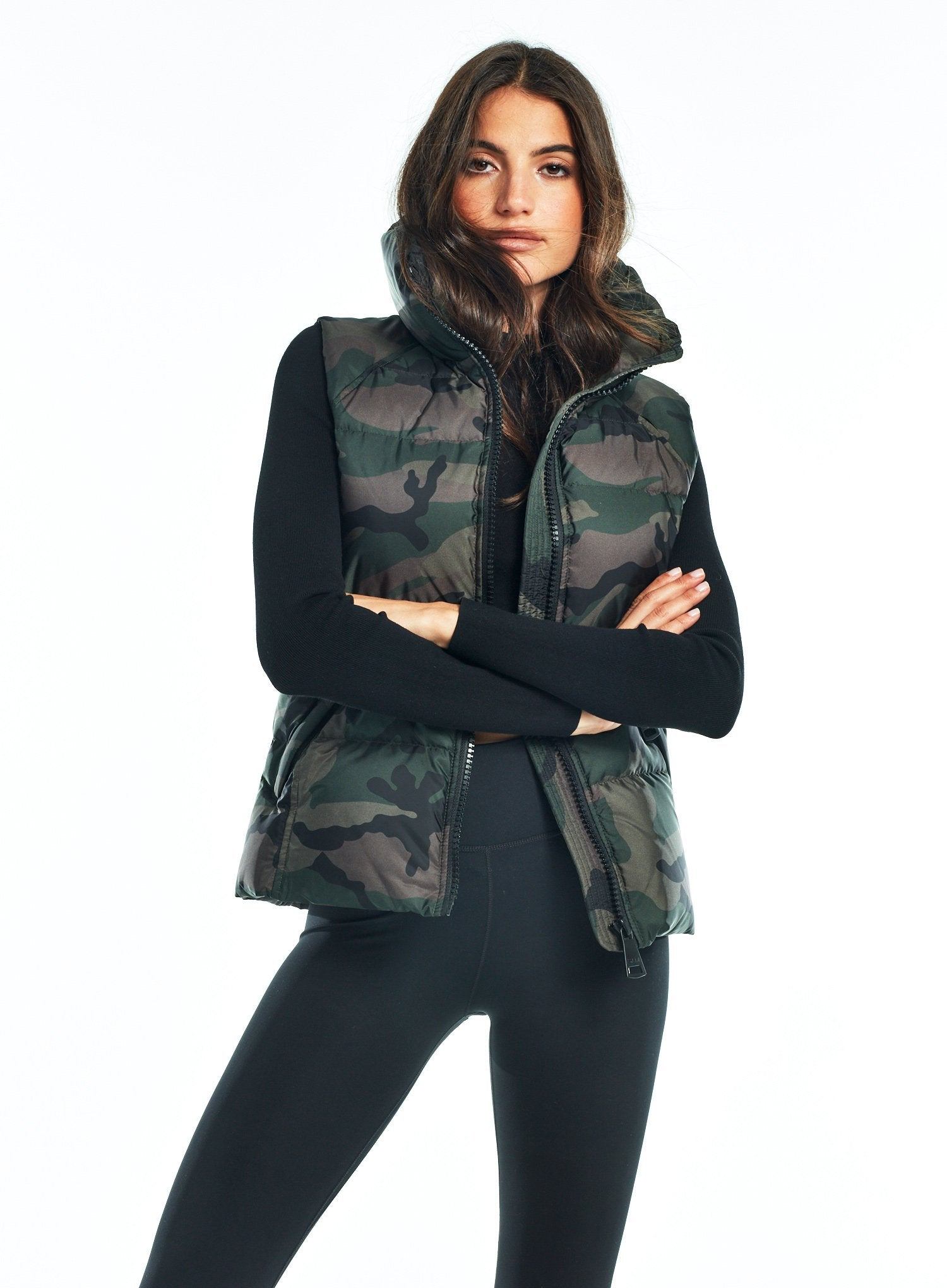 CAMO FREEDOM VEST CAMO FREEDOM VEST - SAM. New York Sam nyc jacket