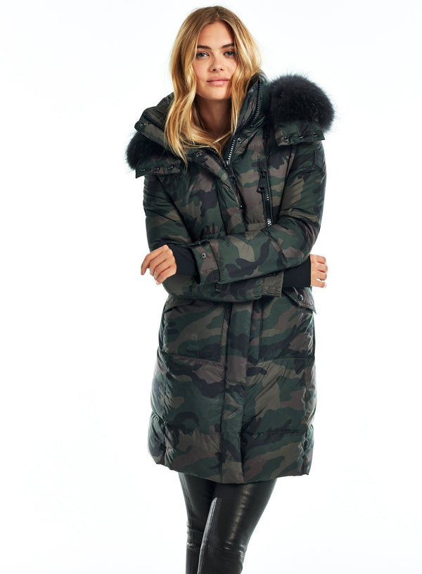 CAMO FUR HIGHWAY CAMO FUR HIGHWAY - SAM. New York Sam nyc jacket