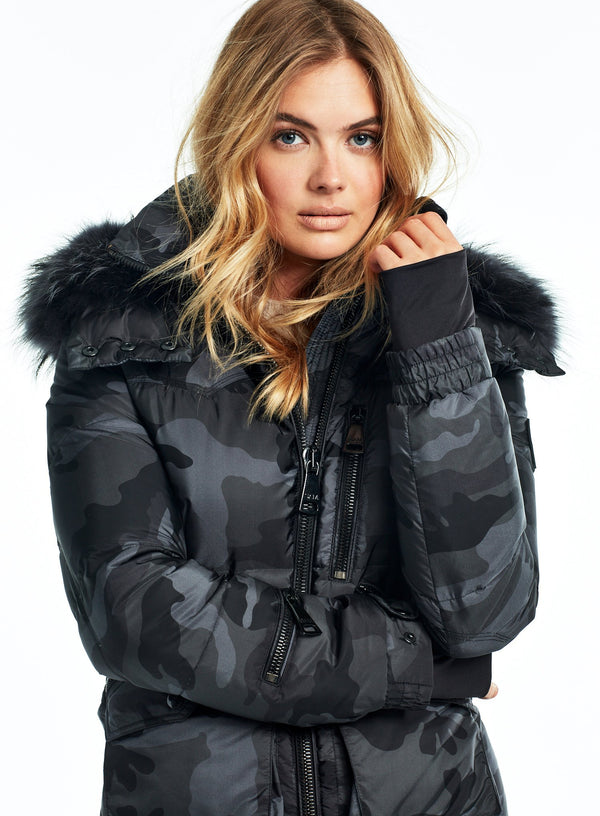 CAMO FUR JETSET CAMO FUR JETSET - SAM. New York Sam nyc jacket