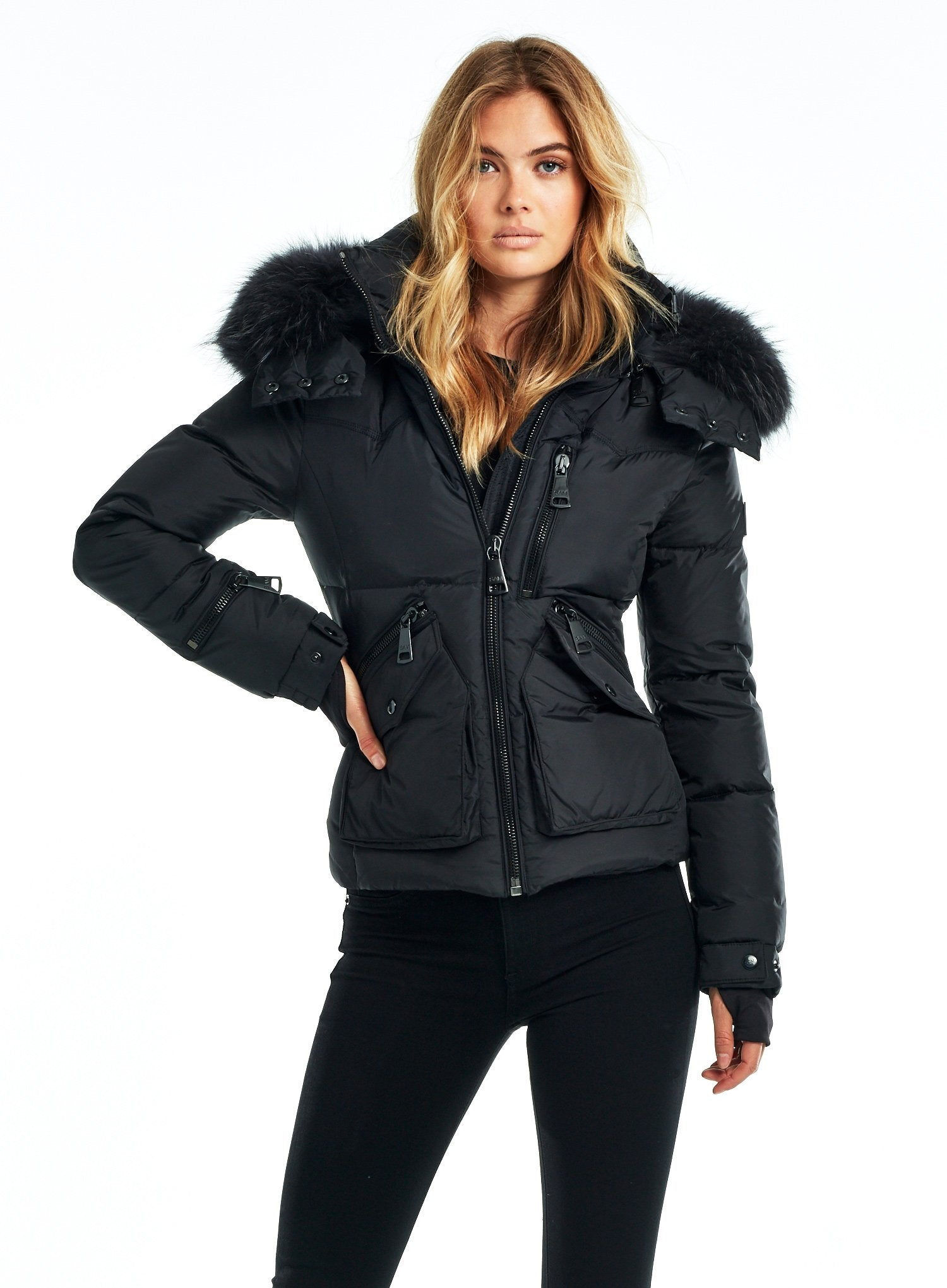 FUR JETSET FUR JETSET - SAM. New York Sam nyc jacket