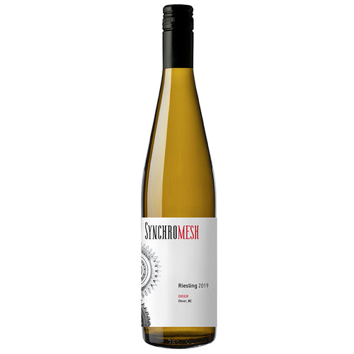 2019 Riesling 'drier'