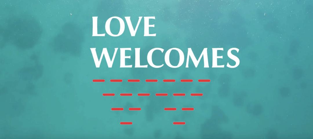 Video showing how Love Welcomes makes beautiful home products out of recycled life jackets and blankets, that create jobs for women living in refugee camps.