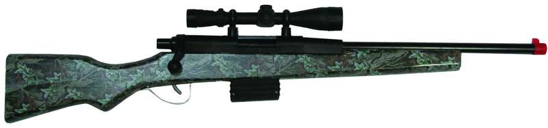 270 BOLT ACTION RIFLE CAMO
