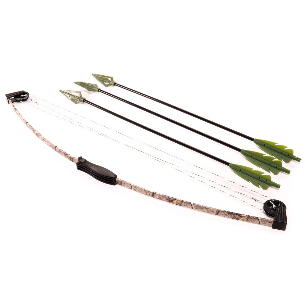"27"" CAMO COMPOUND BOW AND ARROW SET"