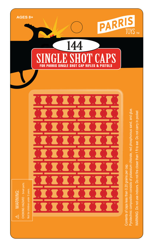 #917 PULL OFF SINGLE SHOT ACTION CAPS