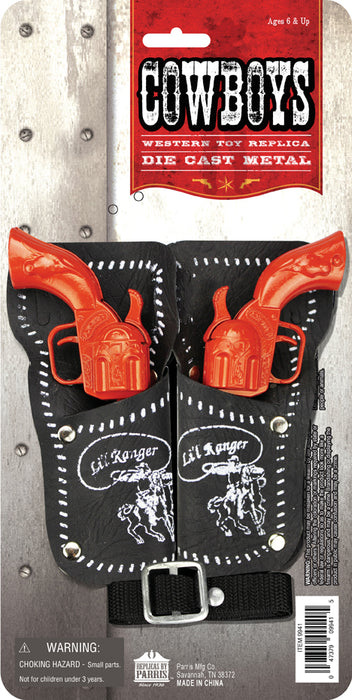 Colored Li'l Ranger Double Holster Set