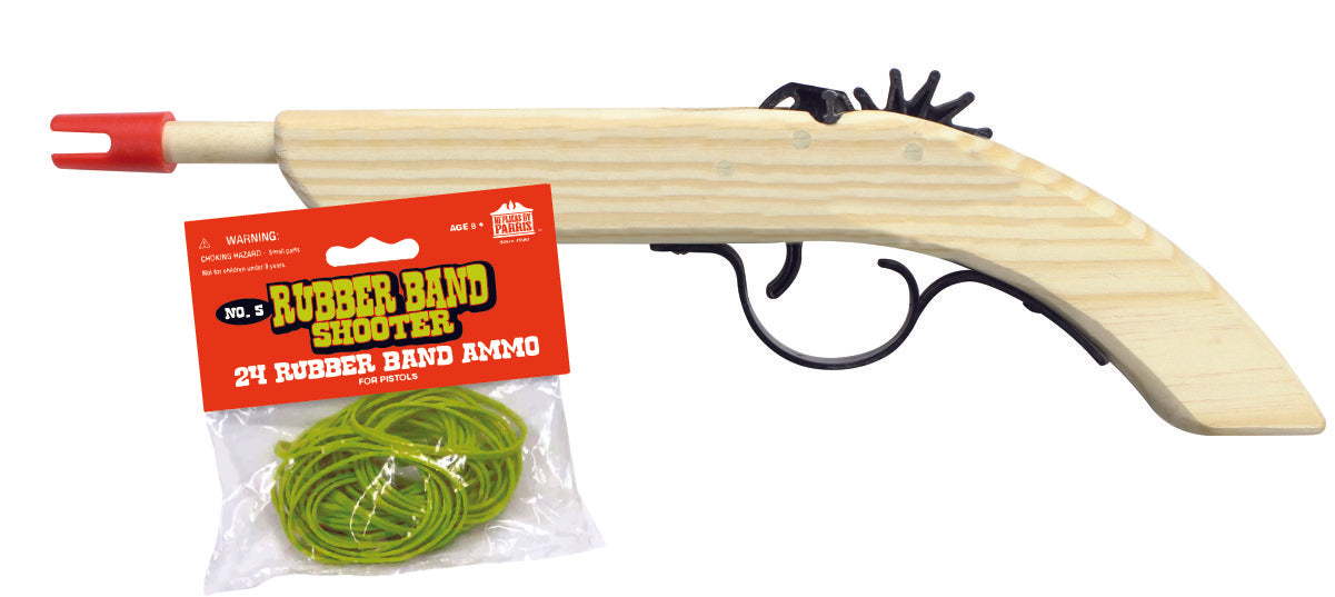BUCCANEER RUBBER BAND SHOOTER