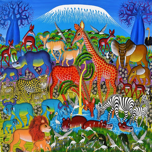 tingatinga african art for sale