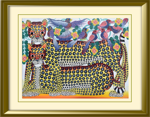 Tingatinga paintings from Africa for sale worldwide
