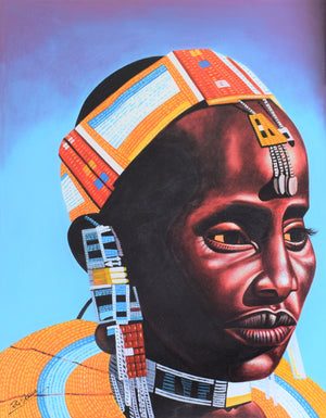 African art of ladies for sale