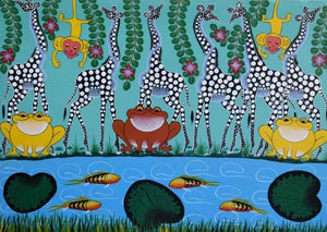 african art of animals for sale