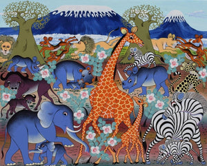 African wall art for sale