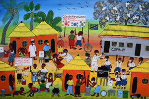 african art of the coronavirus