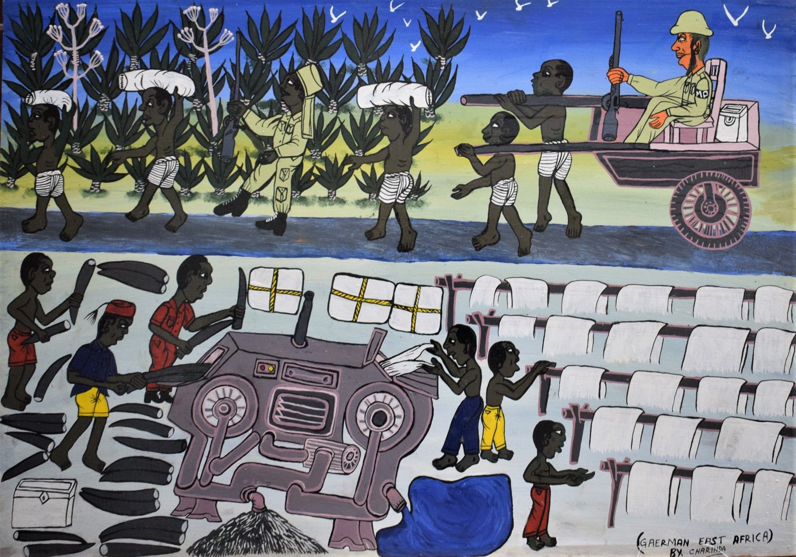 african art of slavery in east africa