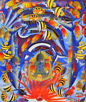African  art of fishes