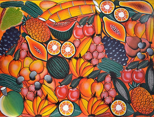 African wall art of fruits for sale