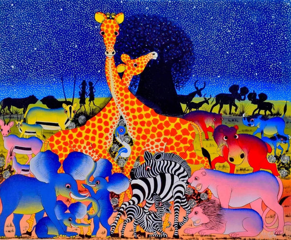 animal african wall art