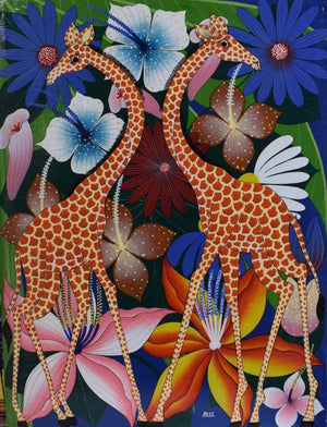 African painting of animals for sale
