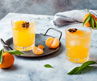 Tangerine Ginger Lime Cooler