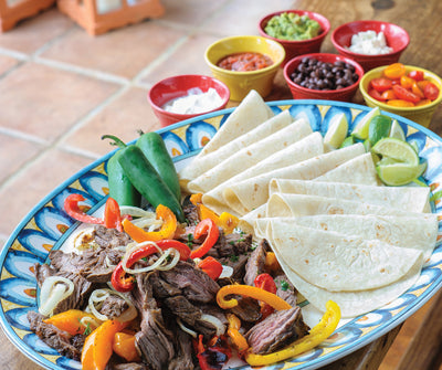 Citrus & Beer Marinated Fajitas