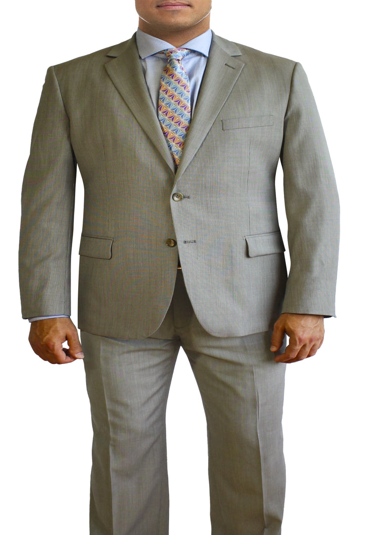Tan Suit by Daniel Hechter