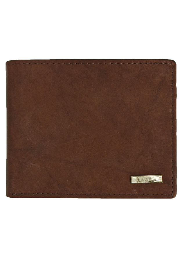 Nicole Miller Brown Pass Case Wallet