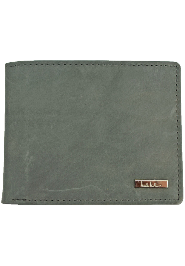Nicole Miller Grey Pass Case Wallet